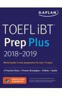 TOEFL iBT Prep Plus 2018-2019 4 Practice Tests + Proven Strategies + Online + Audio