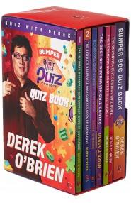 DEREK O'BRIEN - Bumper Cadbury bourn Vita Quiz Book (Box Set