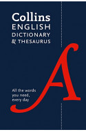Collins English Dictionary and Thesaurus Paperback edition