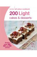 200 Light Cakes & Desserts