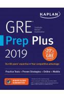 GRE Prep Plus 2019: Practice Tests + Proven Strategies + Onl