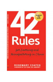 42 Rules for Sourcing & Manufacturing in China