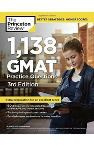 1,138 GMAT Practice Questions