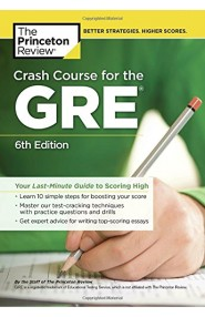 Crash Course for the GRE, 6th Edition