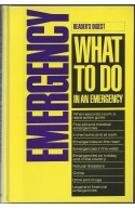Readers Digest Emergency What to Do