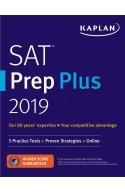 SAT Prep Plus 2019: 5 Practice Tests + Proven Strategies + O