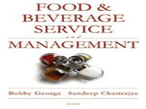 Food & Beverage – Service and Management