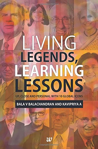 Living Legends, Learning Lessons: Up, Close and Personal Wit